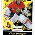 Chris Driedger RC Retro SP 2015-16 UD OPC #530 Senators