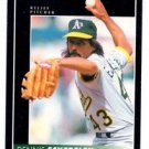 Dennis Eckersley Trading Card Single 1992 Pinnacle #25 Athletics