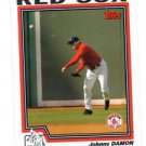 Johnny Damon Trading Card Single 2004 Topps #82 Red Sox