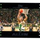 Ray Allen Trading Card 2007-08 Topps #9 Celtics