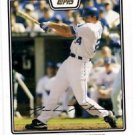 Mark Teahen Gold Foil Trading Card Single 2008 Topps #210 Royals