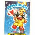 Up Chuck License Back Sticker 1985 Topps Garbage Pail Kids UK Mini #3a