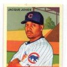 Jacque Jones  Red Back Trading Card 2007 UD Goudey #48 Cubs