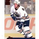 Tom Poti Red Trading Card Single 1999-00 Pacific Paramount #94 Oilers