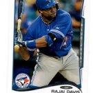 Rajai Davis Trading Card Single 2014 Topps Mini Exclusives #165 Blue Jays