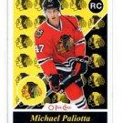 Michael Paliotta Retro SP RC 2015-16 UD OPC #550 Blackhawks