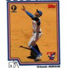 Orlando Hudson Trading Card Single 2004 Topps 1st Edition #241 Blue Jays