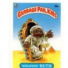 Wrappin Ruth License Back Sticker 1985 Topps Garbage Pail Kids UK Mini #36a