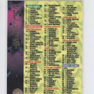 Checklist Unmarked Single Commo 1994 Fleer Marvel Universe #200 *ED