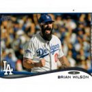 Brian Wilson Trading Card Single 2014 Topps Mini Exclusives #367 Dodgers