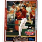 Carlos Beltran Trading Card Single 2005 Topps Opening Day #108 Astros