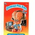 Brany Janie License Back Sticker 1985 Topps Garbage Pail Kids UK Mini #27a