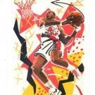 Clyde Drexler Trading Card 1990-91 Hoops #376 Trailblazers
