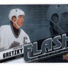 Wayne Gretzky Flash of Excellence Insert 2015-16 UD Overtime #FDE14 Kings