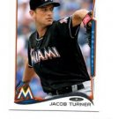Jacob Turner Trading Card Single 2014 Topps Mini Exclusives #392 Marlins