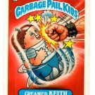 Creamed Keith Sticker 1986 Topps Garbage Pail Kids #97b