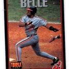 Albert Belle Trading Card Single 1993 Triple Threat #94 Indians
