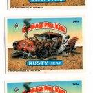 Rusty Heap Sticker Lot of (3) 1987 Topps Garbage Pail Kids #247a NMMT+