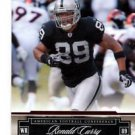Ronald Curry Trading Card Single 2007 Prestige #104 Raiders