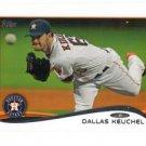 Dallas Keuchel Trading Card Single 2013 Topps Mini Exclusives #482 Astros