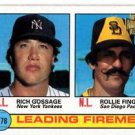 Rollie Fingers Rich Gossage 2001 Topps Archives #8