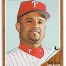 Placido Polanco Trading Card Single 2011 Topps Heritage #146 Phillies