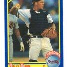 Kelly Mann RC Trading Card 1990 Score #627 Braves