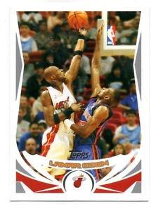 Lamar Odom Trading Card Single 2004-05 Topps #148 Heat
