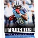 Chris Johnson Franchise Trading Card Single 2013 Score #297 Titans