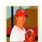 Mark Mulder Trading Card Single 2007 Upper Deck Goudey Red Mini #25 Cardinals