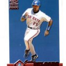 Carlos Delgado Ruby Parallel Trading Card 2000 Paramount #244 Blue Jays