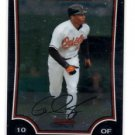 Adam Jones Trading Card Single 2009 Bowman Chrome #183 Orioles