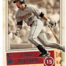 Carlos Beltran Trading Card Single 2005 Fleer Authentix #80 Astros