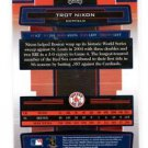 Trot Nixon Trading Card Single 2005 Playoff Absolute Memorabilia #58 Red Sox