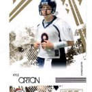 Kyle Orton Gold Retail Trading Card Single 2009 Rookies & Stars #18 Broncos