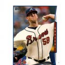 Alex Wood Trading Card Single 2014 Topps #437 Braves