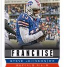 Steve Johnson Franchise Trading Card Single 2013 Score #270 Bills