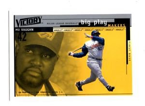Mo vaughn Trading Card Single 2000 UD MVP #383 Angels