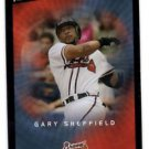 Gary Sheffield Trading Card Single 2003 UD Victory #32 Braves
