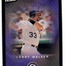 Larry Walker Trading Card Single 2003 UD Victory #33 Rockies