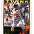 Kirby Puckett Trading Card Single 1988 Topps #120 Twins NMMT