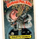 Haley's Vomit Thumb & DS Back Lot 1987 Topps Garbage Pail Kids #338A EX