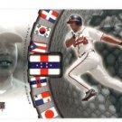 Andruw Jones Trading Card 2001 Upper Deck World Stars #468 Braves