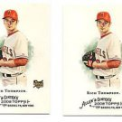 Rich Thompson Trading Card Lot of (2) 2008 Topps Allen & Ginter #291 Angels