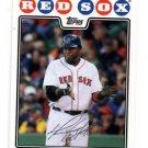 David Ortiz Trading Card Single 2008 Topps #360 Red Sox