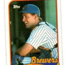 B.J. Surhoff Trading Card Single 1989 Topps #33 Brewers