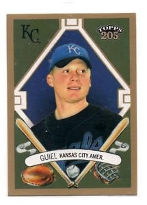 Aaron Guiel Trading Card Single 2003 Topps 205 #294 Royals