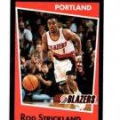 Rod Strickland Trading Card Single 1994-95 Panini Sticker #48 Trail Blazers