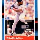 Kirby Puckett Trading Card Single 1988 Donruss #368 Twins NMT