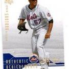 Johan Santana Authentic Achievements 2009 UD SP Authentic #AA-13 Mets
